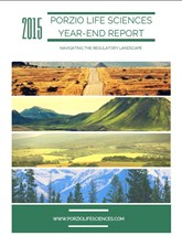 Porzio Life Sciences 2015 Year End Report COVER
